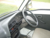 Suzuki Carry interior