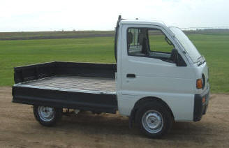 4WD Suzuki Carry with spray-in bedliner