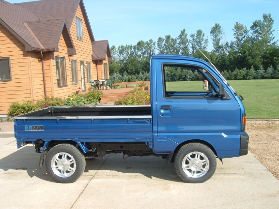 91 Suzuki Mini Truck Mitsubishi Dealing in Used Japanese Trucks  Ulmer Farm Service LLC