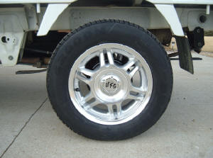 Picture of tire with Mini-truck Rim #U4100